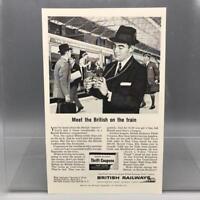Vintage Magazine Ad Print Design Advertising British Railways