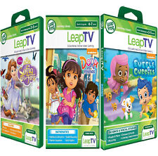 LeapFrog leapTV Games DORA + Bubble Guppies + SOFIA Active game New sealed