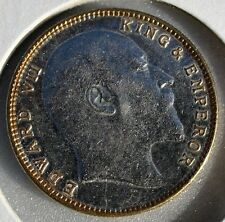 1908 India King Edward VII  Heritage Coins, One Rupee Crafted by Gwalior State