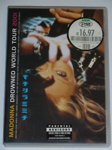 MADONNA DROWNED WORLD TOUR UK (REGION 2) DVD, VERY GOOD  COND - DISC MINT (2001)