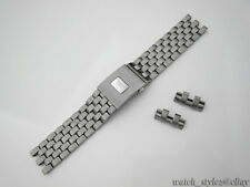 Genuine OEM IWC Pilot Chronograph Stainless Steel Bracelet Band 21mm NEW
