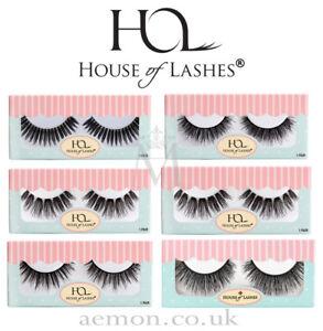 House of Lashes eyelashes: Bambi, Femme Fatale,Dollface,Tinker, Pixie,Noir,Siren