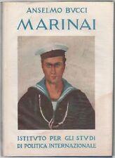 BUCCI Anselmo, Marinai 1918-1941