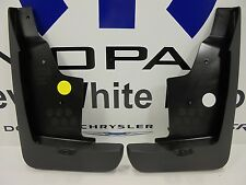 11-16 Jeep Compass New Deluxe Molded Splash Guards Front Mopar Factory Oem