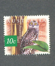 Australia-Owls-Powerful owl mnh-Raptors - Birds of Prey-1623(1996)