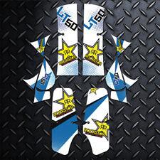 SUZUKI LT50 Graphics Kit LT 50 Stickers Quad Decals Quad - RStar Blue