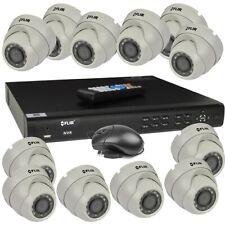 FLIR DN4163E12 Series Full HD PoE+ NVR System 12 Camera Bundle Security System