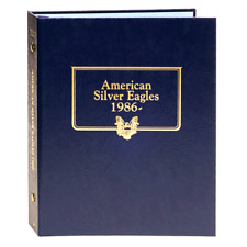 Whitman Silver American Eagle Album 1986 - Current NEW!