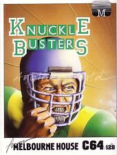Knuckle Busters (Melbourne House 1986) - Commodore 64 - (#118)