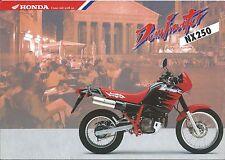 Motorcycle Brochure - Honda - NX250 Dominator - c1993 GERMAN Prospekt (DC453)