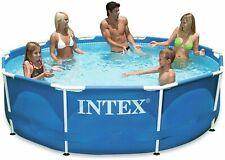 Intex Piscina rotonda mod. 28202, struttura acciaio 305x76cm + pompa e copertura