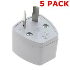 Multi 5 Pack, Regno Unito a AU Travel Adapter ci dell' Unione europea all' Australia 3 Pin A 2 PIN PLUG