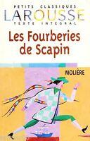 Les Fourberies de Scapin // MOLIERE // Petits classiques Larousse // Comédie