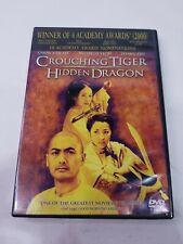 Crouching Tiger, Hidden Dragon (Dvd, 2001, Special Edition)