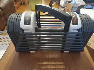 (1) PowerBlock Sport 24 Single Adjustable Dumbell 6 to 24 lbs