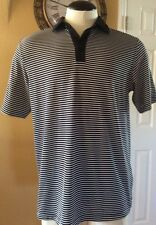Euc Callaway Polo Shirt color Black & White Size Large