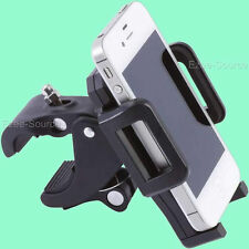 Adjustable Motorcycle Bicycle Phone Mount fits iPhones GPS and Most Phones