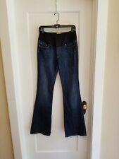PAIGE Maternity Jeans Size 30 Laurel Canyon Boot Cut