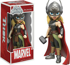 Funko - Rock Candy: Marvel - Lady Thor Vinyl Action Figure New In Box