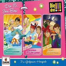 3 CDs * DIE DREI !!! (AUSRUFEZEICHEN) - BOX 15 - Folge 43 - 45  # NEU OVP =