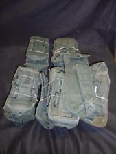 Pair of British Military Army 1944 Pattern P44 Webbing Left Hand Ammo Pouches