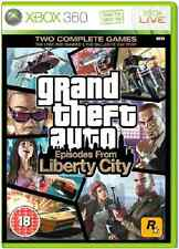 Xbox 360 GRAND THEFT AUTO IV (GTA 4) EPISODI DA LIBERTY CITY ** Nuovo e Sigillato **