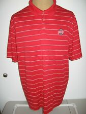 OHIO STATE BUCKEYES NIKE POLO SHIRT ADULT MEN'S 2XL RED