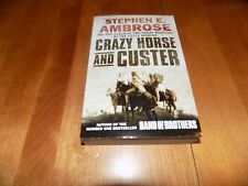 CRAZY HORSE and CUSTER Little Big Horn Battle Indian War Warriors Book NEW