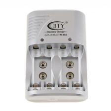 BTY Battery Charger Multi Rechargeable Batteries Charger AA/AAA 9v