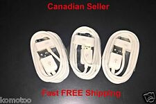 3x1M USB Charging/Data Sync Charger Cable/Cord Apple iPhone 4 4S 3 3s iPod iPad