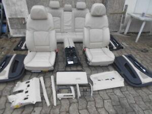 BMW F01 7er INNENAUSTATTUNG SITZE LEDER TÜRPAPPE BEIGE MEMORY SPORTSITZE KOMPLET