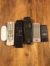 Job lot of remote controls X 6 Audio And TV