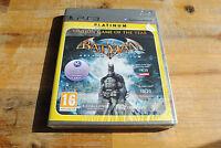 Jeu BATMAN ARKHAM ASYLUM pour Playstation 3 (PS3) NEUF VF