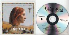 JON BRION Lady Bird OST 2018 UK 23-track promo test CD