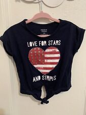 French Toast Baby Girl Stars And Stripes Outfit 12 Months