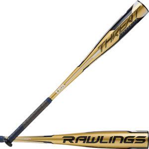 2020 RAWLINGS THREAT USA -12 COMPOSITE BASEBALL BAT USZT12 ONE PIECE