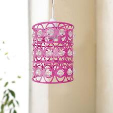 Lampadari da soffitto rosa in plastica