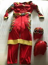 VINTAGE Power Ranger Costumes Adult Red Ranger SZ LARGE 2004 HTF COSPLAY