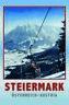 Steiermark Österreich Austria Blechschild Schild gewölbt Tin Sign 20 x 30 cm