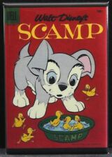 "Scamp Comic Book 2"" X 3"" Fridge Magnet."