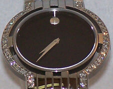 Men's authentic esperanza 0605752 0.70ct.aprx.custom set Movado  Diamond watch