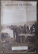 Nov. 7, 1918 Mid Week Pictorial - full of WWI photos
