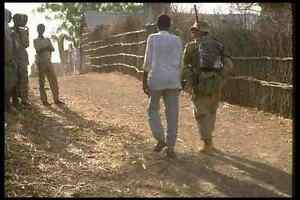 170052 Soldier Foot Patrol Somalia A4 Photo Print