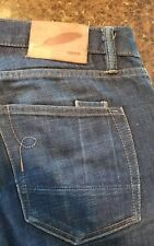 Rogue Territory RGT SK Skinny Signature Six Pocket Jeans Selvedge USA Made 35x30