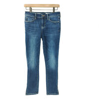 Anthropologie Pilcro And The Letterpress Stet Jeans 27 Cropped Side Ankle Slit