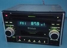SUBARU MCINTOSH CD CASSETTE PLAYER RADIO STEREO HEAD UNIT & SUBWOOFER BE BH SF