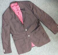 Stone house Lanificio Tollegno Men's Black Blazer Size 46R