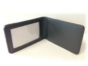 Badge Wallet, Leather with ID Window, Latest Release 2020