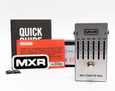 MXR M109S Six Band EQ Guitar Effect Pedal - Blem