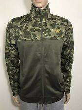 bd9c90454c The North Face Men s 100 Cinder Full Zip Jacket New Taupe Green Camo S M  LXL XXL